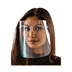 WIETRE® Visier Face Shield Maske Plastik   Gesichtsvisier Plexiglas Anti Beschlag Anti Fog   wiederverwendbar für Männer und Frauen