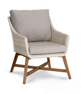 Best Gartenstuhl Lounge-Sessel Paterna Teakholz/alabaster; 41391504