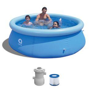 Gartenpool - Pool Set mit Filterpumpe 244 x 63 cm