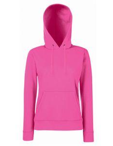 Lady-Fit Classic Hooded Sweat - Farbe: Fuchsia - Größe: XXL