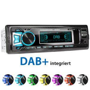 XOMAX XM-RD275: 1DIN, Autoradio mit DAB+, Bluetooth, USB, AUX IN, ohne Laufwerk