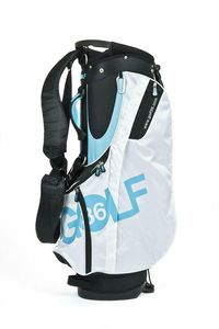 Standsack Golfbag Golf 36 Golfsack Tragebag blau