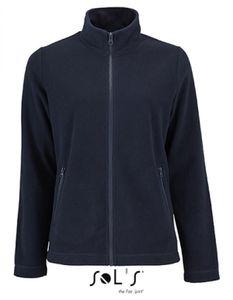 Damen Plain Fleece Jacke Norman - Farbe: Navy - Größe: L