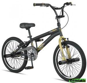 Jungen Free Style BMX Panthero 20 Zoll schwarz-gold