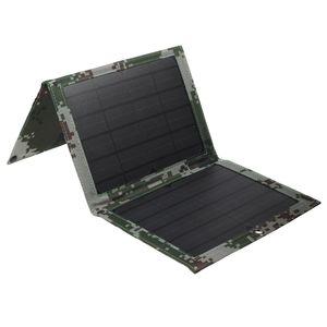 Kingso 4 in 1 150W Solarpanel Faltbares wasserdichtes Ladegerät Hocheffizientes Solar Panel Ladegerät 2 USB Anschlüssen  Camping Outdoor