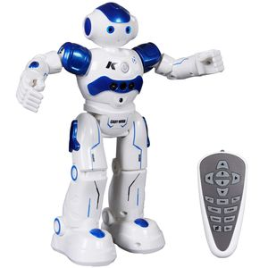 Ferngesteuerter Roboter Spielzeug für Kinder, Intelligent Programmierbar RC Roboter mit Gestensteuerung, LED Licht und Musik, RC Spielzeug für Kinder Jungen Mädchen Geschenk