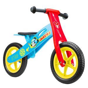 Disney Laufräder 2 Räder Mickey Mouse 12 Zoll Junior Rot/Blau