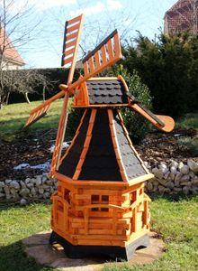 Windmühle, Windmühlen aus Holz mit Solar Typ 20