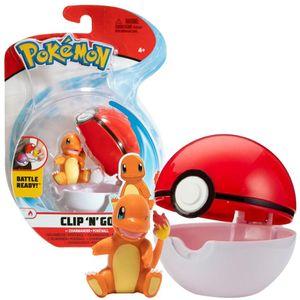 Pokémon - Clip´n Go - Glumanda & Pokéball