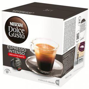 Nescafé® Dolce Gusto® Espresso Intenso Decaffeinato, 16 Kapseln