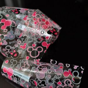 Transferfolie Folie - pink / schwarz / weiss / transparent - Micky Maus - 1400-188