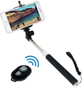 LogiLink Bluetooth Selfie Stange mit Fernbedienung