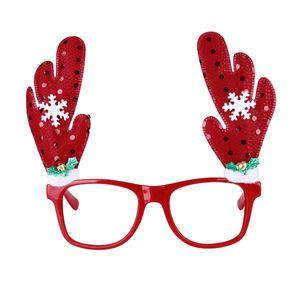 Neuheit Glitzernde Weihnachten Rentier Geweih Schneeflocke