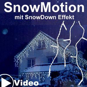 Eiszapfen Lichterkette Snowmotion 8M kaltweiß