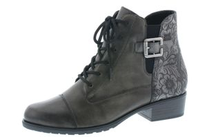 remonte Damen Schnürstiefel Stiefel Schwarz Schuhe, Größe:39
