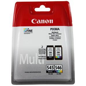 Canon PG-545/CL-546 Tintenpatrone - Schwarz, Farbe - Tintenstrahl - 180 Seiten Farbe, 180 Seiten Schwarz - 2er Pack