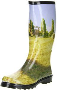 ConWay Damen Gummistiefel (Toskana) mehrfarbig, Größe:38, Farbe:Mehrfarbig