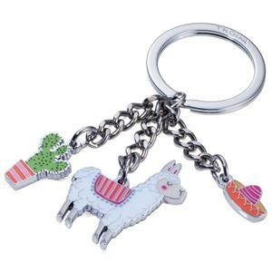 TROIKA Schlüsselanhänger PAKO mit 3 Anhängern