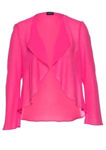 Select By Hermann Lange Damen Designer-Chiffonbolero, pink, Größe:40