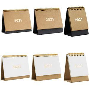 2021 Tischkalender, Aufstellkalender für den Schreibtisch 25.5*17.5cm