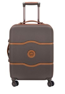 Delsey Chatelet Air 4-Rollen Kabinen Trolley Boardcase 55 cm 00 1672 803, Farbe:Chocolate