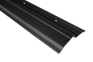 2 Meter | Abdeckprofil für Noppenbahnen | PVC | 65x10mm | Lemal | PT6