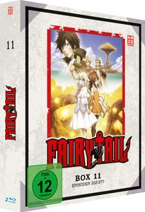 Fairy Tail - TV Serie - Box 11 - Episoden 253-277 - Blu-Ray