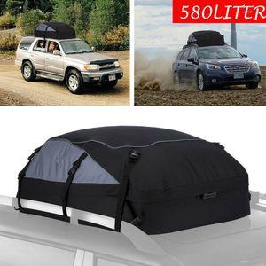 Mannioude 580L Auto Dachtasche Faltbar Dachkoffer Universale Aufbewahrungsbox Dachbox 130×100×45cm
