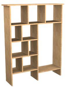 Regal Standregal Büroregal Buche Wäscheregal Schrankwand Regalwand Buche - (3453)