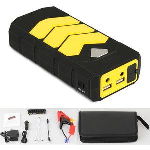 Auto Jump Starter Starthilfe Batterie Booster Ladegerät Power Bank USB 16800mAh