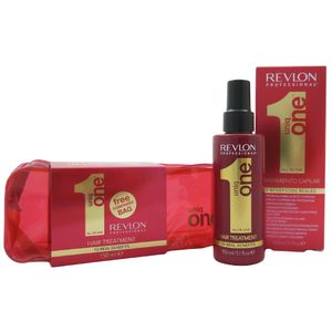 Revlon uniq one all in one 10 in 1 Behandlung Hair Treatment 150 ml + Travel bag