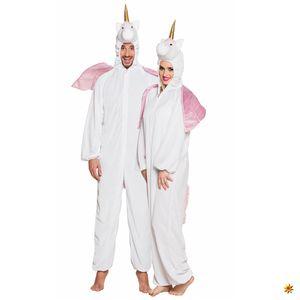 Einhorn Pferd Plüsch Overall Karneval Fasching Kostüm bis 58/60