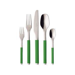 Villeroy & Boch S+ Green Apple Tafelbesteck 30tlg. Edelstahl,Silikon 275,00mm 1264389053