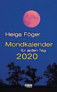 Mondkalender für jeden Tag 2020 Abreißkalender