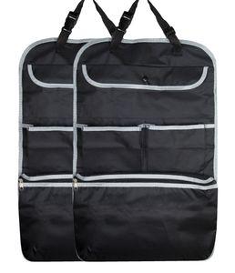2er Set Rückenlehnenschutz, 64x41 cm, schwarz