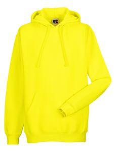 Z575N Hooded Sweatshirt Kapuze Kapuzenshirt Russell , Farbe:YELLOW, Herrengrößen:XL
