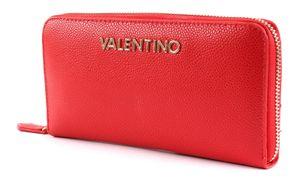 VALENTINO BAGS Divina Zip Around Wallet Rosso