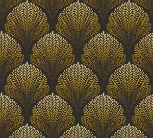 A.S. Création Vliestapete Palila Tapete braun gelb schwarz 10,05 m x 0,53 m 363106 36310-6