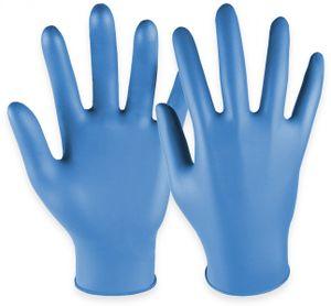 Hase Safety gloves Einweghandschuhe aus Nitril, HASE SAFTEY GLOVES, EN 374-1, EN 420 Größe 8, 100 Stück