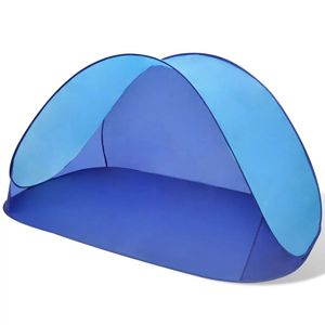 dereoir Außen Strandzelt Zelt wasserdicht Sonnendach Hellblau