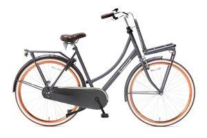 Popal Transportfahrräder Damen Daily Dutch Basic 28 Zoll 50 cm Frau Rücktrittbremse Lachsfarben