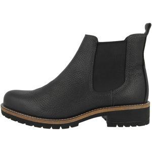 ECCO Damen Stiefeletten Ankle Boots Leder schwarz 40