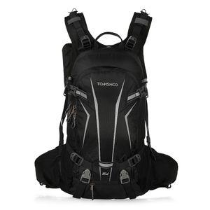 TOMSHOO Fahrradrucksack 20L Outdoor Rucksack Multifunktionaler Wanderrucksack Skirucksack für Radfahren Reiten Bergsteigen mit Regenschutzkappe und Helmabdeckung