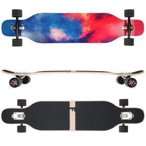 Design Galaxy Ahornholz (Flex 1) FunTomia® Longboard - 2395