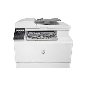 HP color LaserJet Pro MFP M183fw, 4in1, Wireless, Duplex,  ADF, Farbe:Weiß