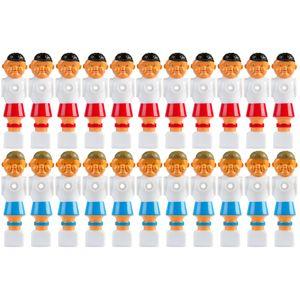 Tischfussballfiguren für 15.9 mm Stangen