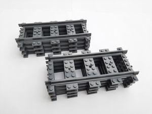 Lego© Steine 8 gerade Lego© City©-Schienen RC *neu und unbespielt*