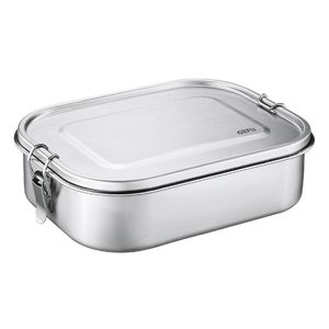 GEFU Lunchbox Endure groß Edelstahl, silber