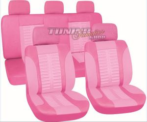 Sitzbezug Sitzbezüge Schonbezüge Bezug Sitz Pink / Rosa SET für viele Fahrzeuge