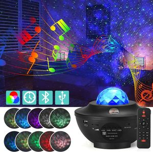 LED Projektor Sternenhimmel Lampe, Sternenhimmel Projektor Lampe mit Fernbedienung
